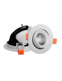 Downlight Orientable Basculante X5004 12W Blanco 4K 57-X5004A-12W-WH4K