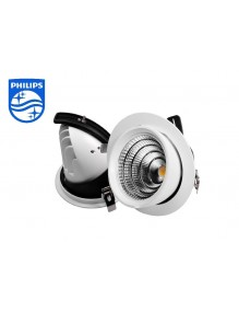 Downlight Orientable Basculante 50W Philips 57-X5004D-50W-WH3K