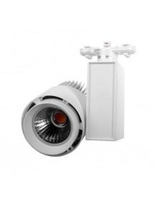 Focos LED de Carril H228 50W Blanco 3K