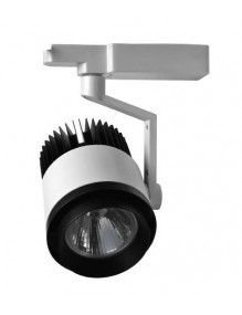 Focos LED de Carril H229 30W Blanco 3K
