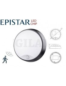 Plafon LED Redondo 14W Sensor