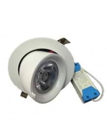 Downlight Orientable Basculante X5004 35W Blanco 4K 57-X5004C-35W-WH4K