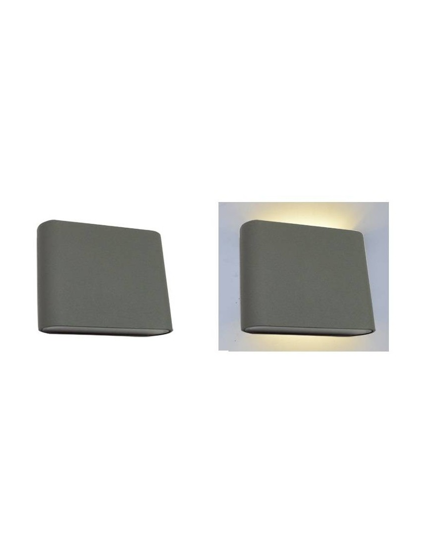 Aplique exterior LED Rectangular