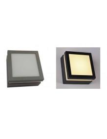 Exterior Aplique exterior 12W 4K LED 2305 WALSQ140GYFRDF4K-2305
