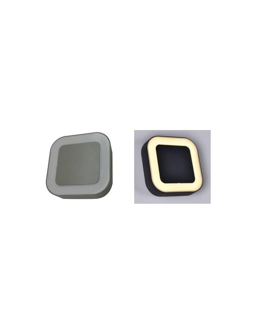 Aplique exterior LED Cuadrado
