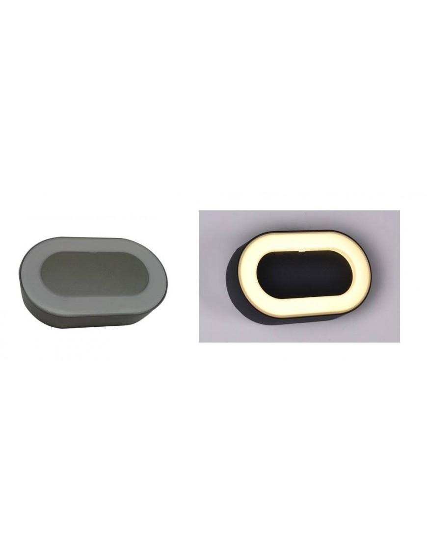 Aplique exterior LED Ovalado
