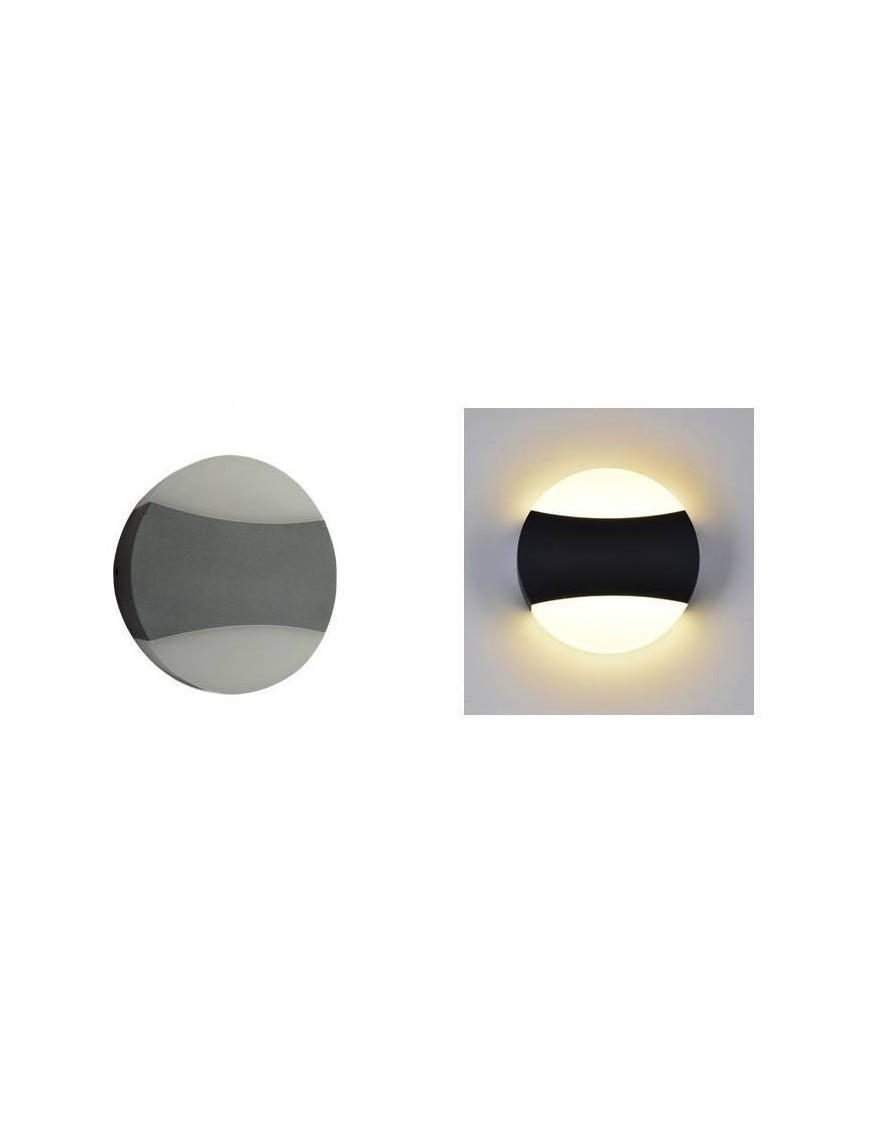 Aplique exterior LED Redondo