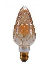 LED Vintage Piña Ambar E27 6W 2K Dimable BFPI70AM2KDIM