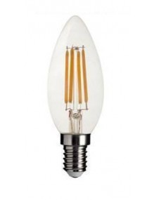 LED Vintage Vela Crystal 4W 3K E14 Dimable BFC35CR2KDIM