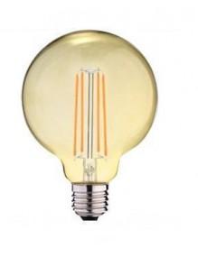 LED Vintage G125 Ambar 6W 2K E27 dimable Globo BFG125AM2KDIM