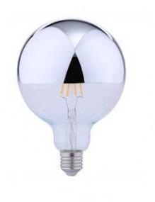 LED Vintage G125 Mirror 6W 3K E27 Dimable Globo BFG125MR2KDIM