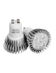 Outlet Bombilla GU10 5x1W 40-LED-GU10-5X1-NW