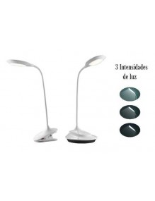 Hogar & Casa Flexo LED Sobremesa/pinza 64-LED-T006J