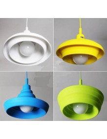 Moderno - Vintage Lampara Silicona E27 Varios colores 58-DY008-E27-BK+DZ