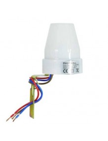 Material Eléctrico Sensor Luz fotocelular 50-1006
