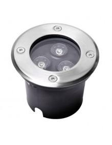 Inicio Foco empotrar Suelo 3W 57-LED-001-3x1W-6K