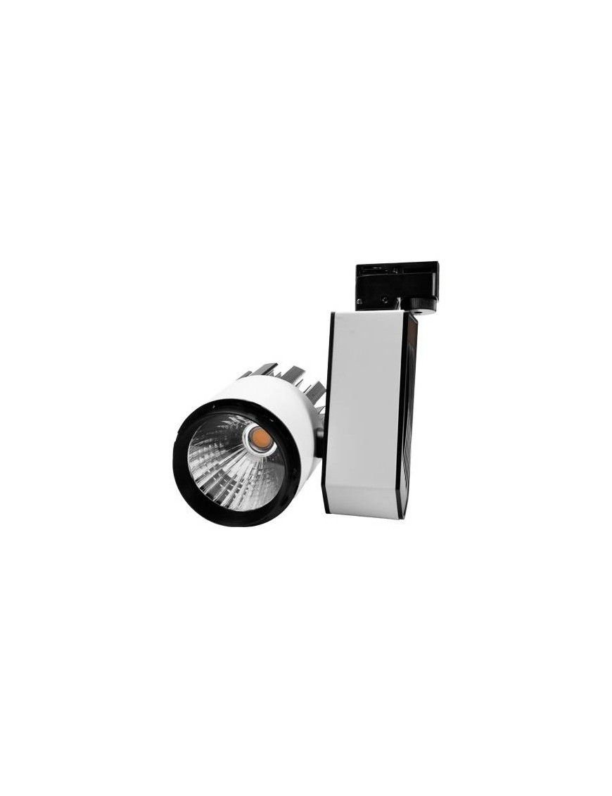 Foco carril LED 30W Monafasico