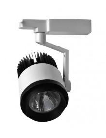 Focos LED de Carril H229 30W Blanco 6K