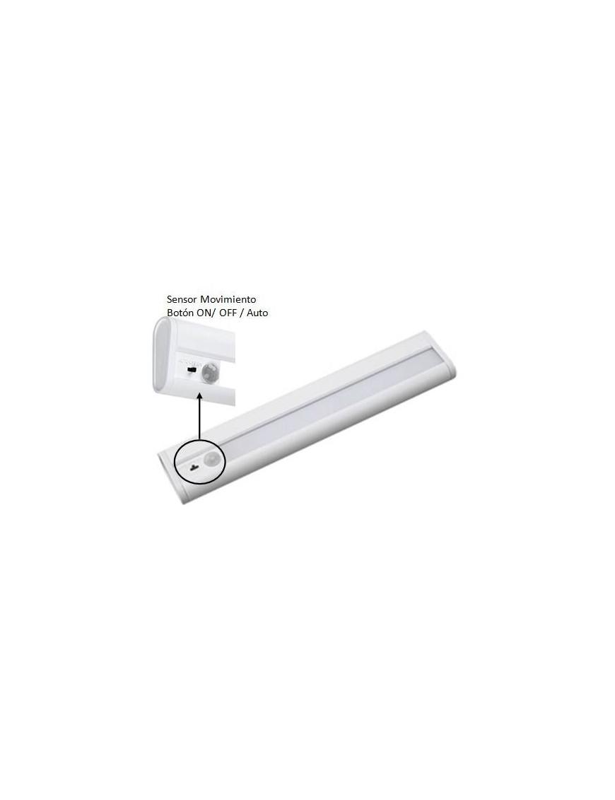Regleta LED con sensor