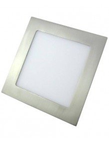Inicio Panel LED Slim 18W Cuadrado Inox Eco 57-LED-DW225-Q-SH4K