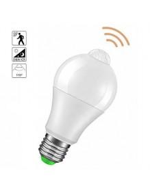 E27 Bombilla LED Sensor 6W 6K 40-LED-A60-6W-6K-SENS