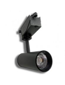 Focos Carril LED Focos Led Carril 10W 3K E02 57-E02BK-10W-3K