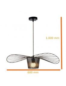 Colgantes Lampara colgante forma sombrero 600mm IA-CHAPE-600