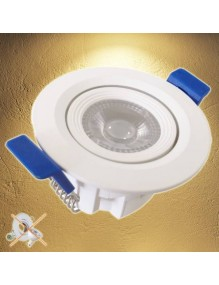 Hogar & Casa Downlight LED OS 7W 3K 57-OS9065R-7W3K
