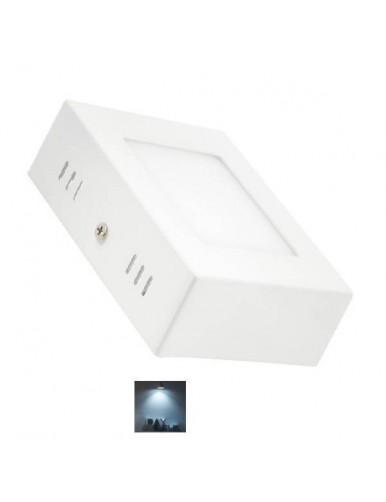 Plafón LED Plafon LED Slim 6W 6K Cuadrado 57-LED-2835-6W-Q-6K