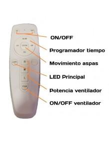 Plafón LED Ventilador Techo LEDFAN 04607 LEDFAN-04607
