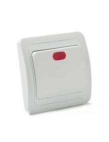 Material Eléctrico Interruptor simple Luz SR101 57-SR101-Luz