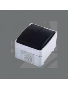 Interruptor doble superficie IP44