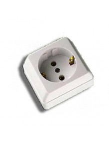 Material Eléctrico Enchufe superficie 404G 71-XX-404G