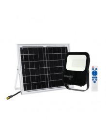 Proyector Exterior LED Proyector 30W Solar LED 6K 57-FL4-30W-SOLAR