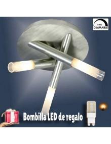 Decoración Lampara Moderna Cristal 0045 55-0045+3G9