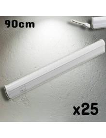 Luminarias Regleta LED T5 90cm 4K 50-LED-T5K-0M9-4K
