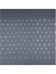 Decoración Cortina LED Blanco CHLCT144L1M56KIP44