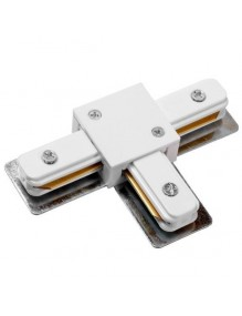 Accesorios carril Conecto T carril monofásico LED 57-LK-HD-3T-WH