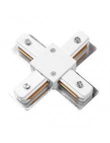 Accesorios carril Conecto X carril monofásico LED 57-LK-HD-4X-WH