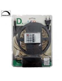 Tiras Led 12V Kit Tira LED 12V 5m IP65 4K Dim 55-LED5050-60-IP65-DIM-4K-K1