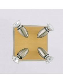 Plafón LED Hogar Plafón de techo GU1090-4R 66-GU1090-4R