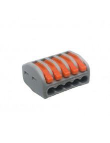 Material Eléctrico Clema rapido 5 cables 71-JX5