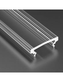 Perfiles LED Difusor XL 2m Transparentes 57-SW8022-2M
