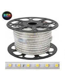 Tiras Led 220V Tira LED5050 220V RGB 55-LED5050-60-RGB230