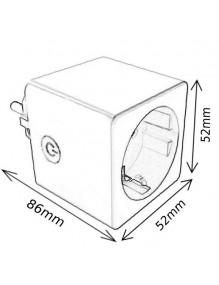 Material Eléctrico Enchufe inteligente E02 DU-ME-E02