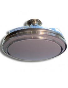 Plafón LED Ventilador Techo LED Aspas plegables LEDFAN 8115 LEDFAN-8115