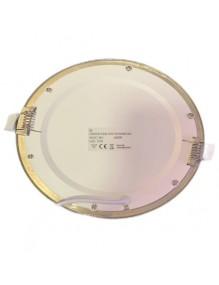 Inicio Panel LED Slim 12W Redondo Inox Eco 57-LED-DW170-R-SH4K