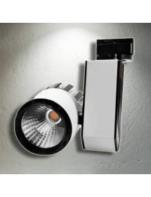Focos Carril LED Focos Led Carril 30W 4K H306 57-LED-H306-30W-4K