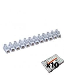 Material Eléctrico Clema regleta de cable eléctrico 3A. Pack 10 71-F04-3A