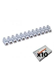 Material Eléctrico Clema regleta de cable eléctrico 10A. Pack 10 71-F10-10A